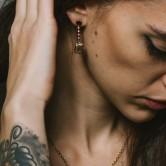 shield earring