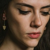 shield earring