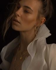 kadın küpe altın mücevher