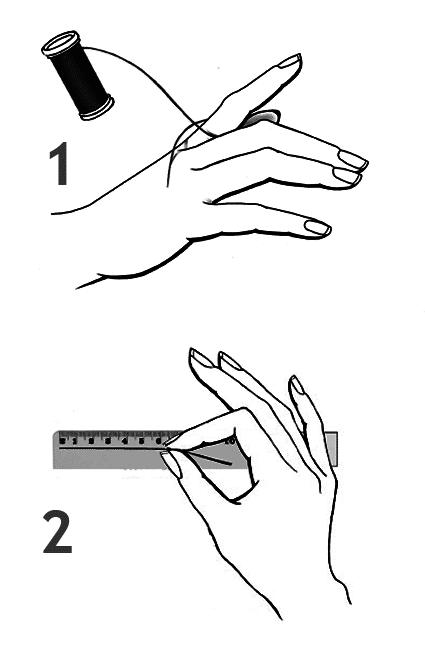 yüzük ölçüsü nasıl alınır cevre olcusu yöntemi