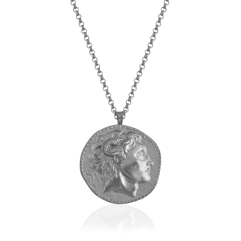 gümüş iskender kolye