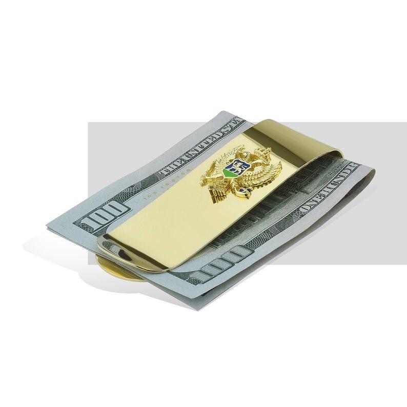 Altın Para Klipsi